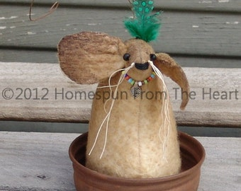 Primitive Mouse, Native American Mouse, Thanksgiving Mouse