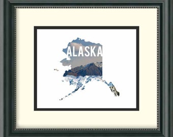 Alaska - Mountains - Digital Download