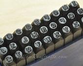 """ImpressArt Metal Stamp Letters- San Serif, Letters Upper Case 2.4mm, 3/32""""  Metal Stamping  (21-09-403)"""