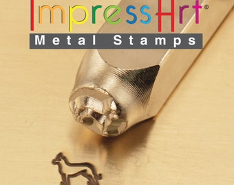 ImpressArt Metal Stamp German Shepard 6mm, Metal Stamp (21-09-324)