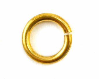 Jump Ring for Stamping Blanks - Copper - 18g size 3/16 inch , 50 pack  (21-48-011)