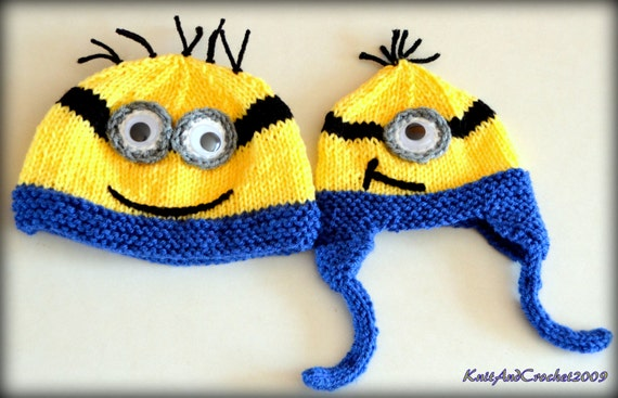 Knitted Minion Hat Pattern Choice Image Knitting Patterns Free