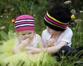 Gorgeous Licorice Allsorts Hat (Your Colour Choice)