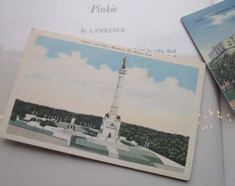 5 Vintage Linen Printed Post Cards Iowa