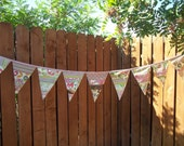 Party Bunting Scrappy Patchwork Pennant Flags