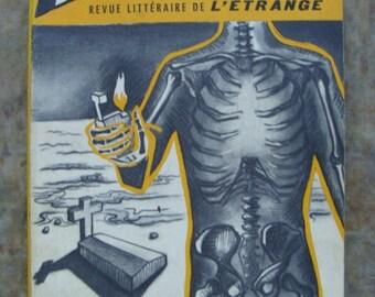 1957 Antique Paris French Gothic Science Fiction Book