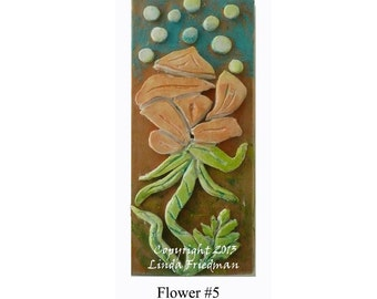 Stamp for Fabric - Flower No. 5