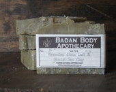 Organic Black Salt & Glacial Marine Clay Shea Butter Facial Cleansing Soap - Detoxifying