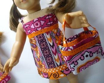 American girl doll sundress