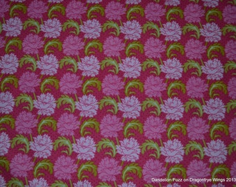 One Yard of Pink Savanna Fabric