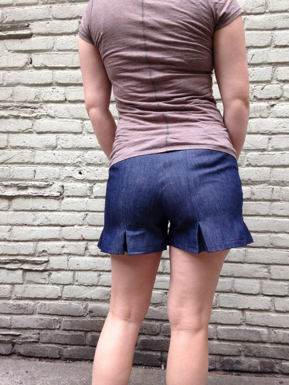 Pleated Shorts from Little Birdie NYC
