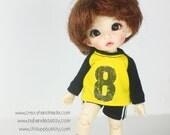 Lati Yellow / pukifee Outfits - T-shirt  and short pants.