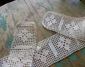 Garniture au Crochet Vintage