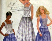 Vintage McCall's 7981 Peasant Skirt and Top Pattern Bust 31.5
