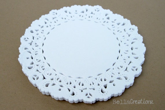"4"" Paper Lace Doilies - Set of 25 - ""FREE SHIPPING"""