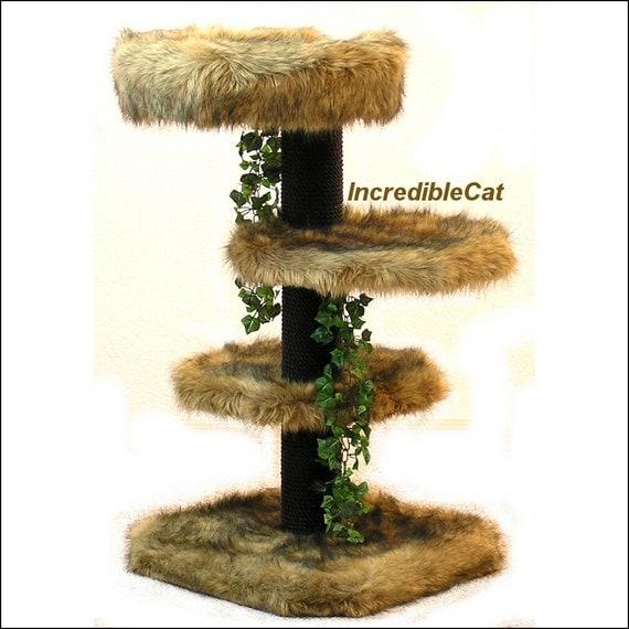 senior cat tree 3 39 high glenwood best cat bed designer. Black Bedroom Furniture Sets. Home Design Ideas
