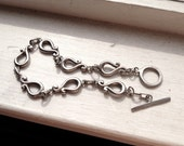 Vintage Silver Bracelet - Free Shipping in the USA