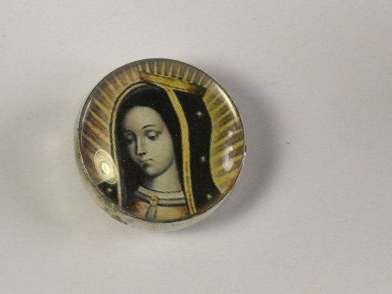 Pocket Prayer Pebble - Our Lady of Guadalupe / Let it be