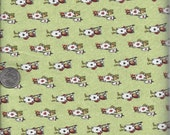 Listing for Sewing102 - 3 1/2 yards of Mini Card Army in green