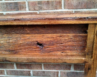 YOUR Made to Order Rustic and Recliamed Barn Wood Head Board and FREE SHIPPING - BWH250F