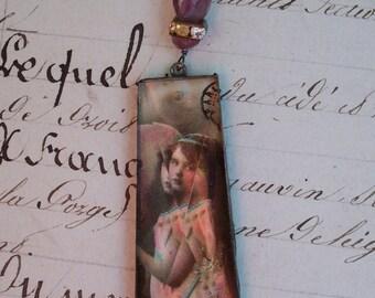 Paris Valentine - Vintage Assemblage Necklace
