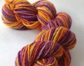 NEW COLORWAY! - Small Wonder - handspun yarn, worsted weight