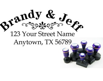Personalized Self Inking Address Stamp - Return address stamp R157