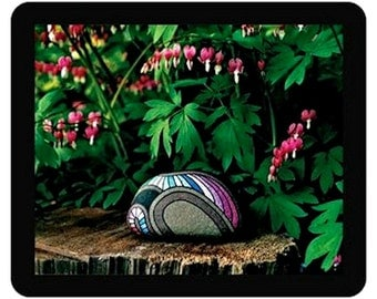 Pink Flower Bleeding Hearts Mouse Pad Computer Accessories Office Gifts for Her or Cool Gifts for Him Great Housewarming Gifts Ideas