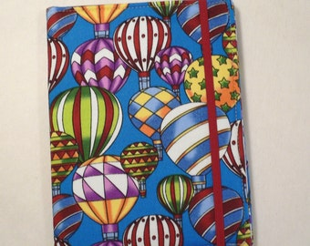 Kindle cover Hardcover, Kindle Paperwhite Cover, iPad Mini, Nook Tablet Cover,  Book Style, Hot Air