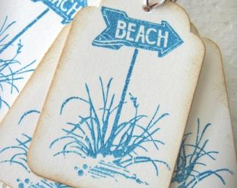 Beach Gift Tags
