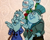 DISNEY - Haunted Mansion Hitchhiker Ghosts - Printed Paper Piece for Scrapbook Pages - SSFF