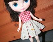 Rot karierte und Little Red Riding Hood Party Dress - Blythe Kleid