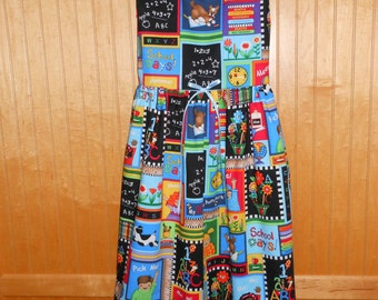 Back to school dress size 7