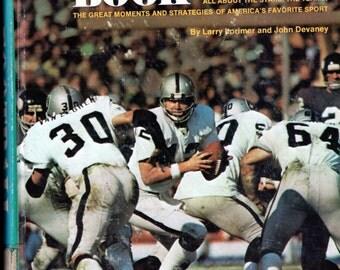 Sports Vintage Football Photo Book-1977 Illustrated