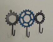 bike gear hooks x3