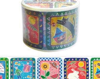 20% off sale - Aimez Washi Masking Tape - Calendar Images