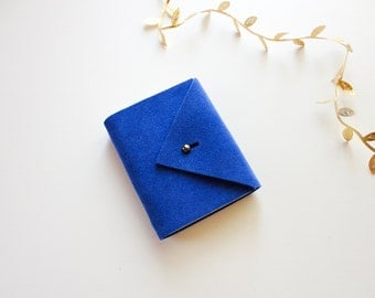 Pocket Suede Envelope book