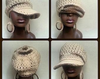 Divine Being Crochet Cap and Earrings