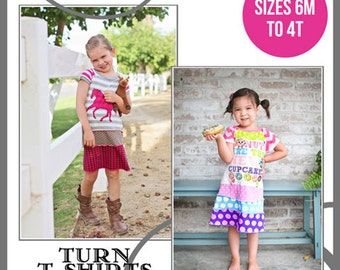 DIY PDF Pattern and Tutorial - The Sienna Dress 2.0 - Sizes 6M to 4T