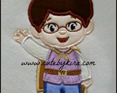 Prince Boy Applique Embroidery Design