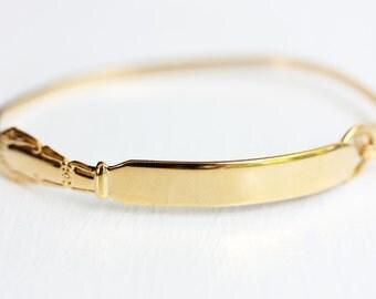 Gold Utensil Bracelet