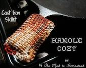 Cast Iron Skillet Handle Cozy Crochet Pattern PDF