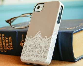 iPhone 6 Case, Lace, iPhone 5S Case, Vintage Lace, iPhone 7, iPhone 6S Plus Case, Samsung Galaxy S7 Edge Lace Phone Case