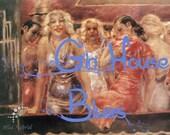 Gin House Blues perfume oil - 5ml Gin, cotton, heady blooms, strong black tea and bourbon vanilla