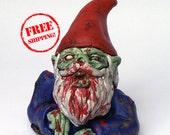 Zombie Gnome-Rising Dead, Free Shipping!