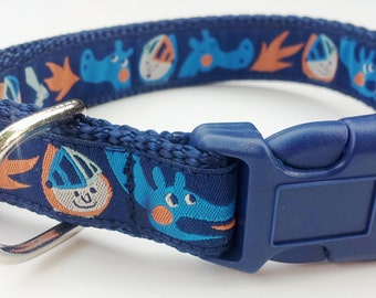 The Noble Beast - Dog Collar / Pet Accessories / Handmade / Adjustable