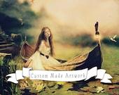 Custom Art Bookings, DEPOSIT for Your Portrait - Your Fantasy // Custom Made // Personal Fantasy Portrait Artwork
