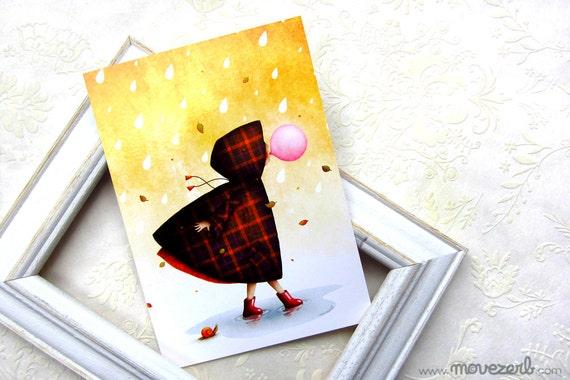 L'insolente - Postcard