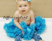 Blue Stars and Bows Baby Leg Warmers FREE SHIPPING