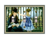 1465x - Manet Mother & Child - Mrs Butler Switchplates - (Choose sizes and prices from dropdown)light switchplates, switch plate covers